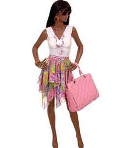 Fashion clothes jewelry and handbag