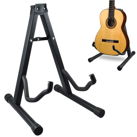 Stand Biola Foldable Fit All Size High Quality guitar stand a frame folding universal fits all guitars acoustic electric bass a ebay