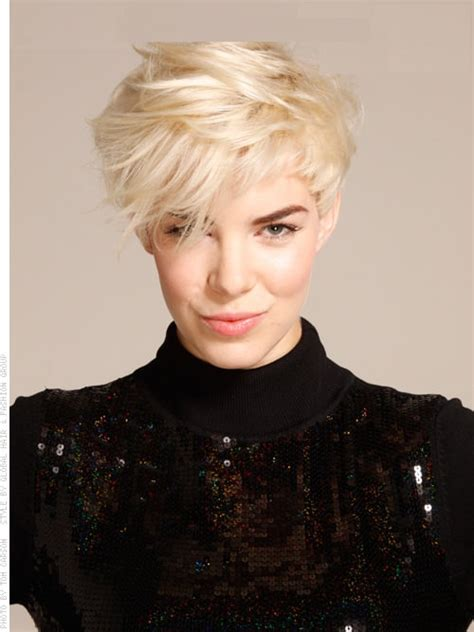 haircuts blonde thick hair top ten trendy blonde short hair cuts style for girls