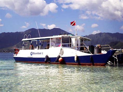 glass bottom boat kaneohe captain bob s picnic sail snorkeling