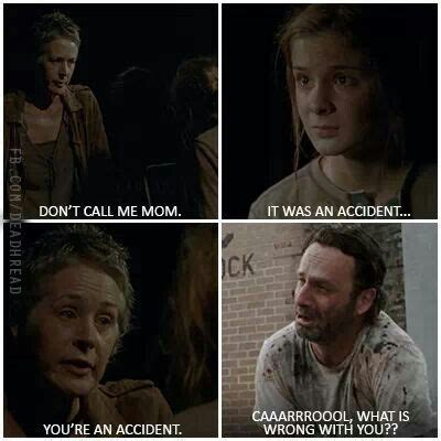 Carol Walking Dead Meme - walking dead i still love carol though the walking