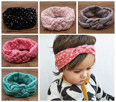 How To Make Handmade Hair Bands - baby polka dot crochet headbands hair