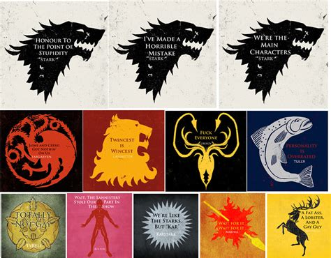 game of thrones house sayings game of thrones house sayings by rachelmustofende on deviantart