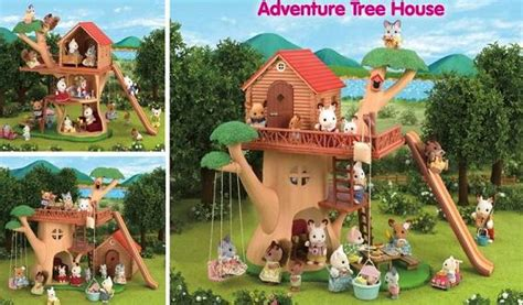 calico critters tree house calico critters 2013 range calico critters