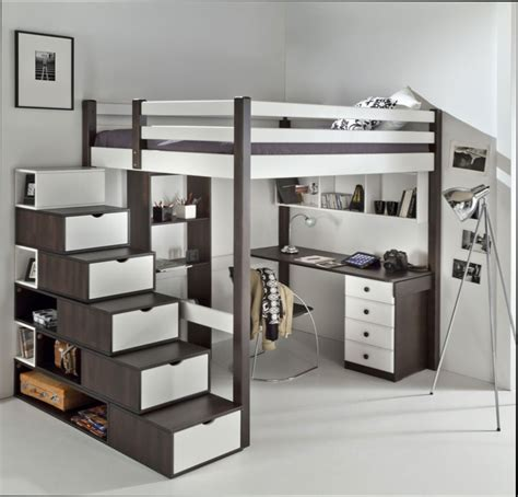Internal Decoration Chambre Fille Chambre Ado Fille Lit Mezzanine