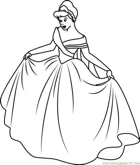 new cinderella coloring pages cinderella in new look coloring page free cinderella