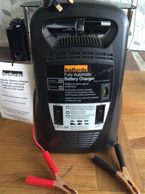 battery charger halfords halfords fully automatic battery charger in newcastle
