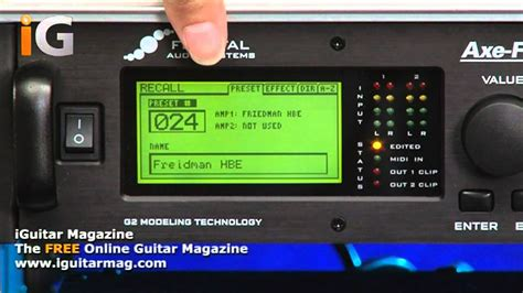 tutorial axe fx 2 fractal audio axe fx ii review with tom quayle iguitar