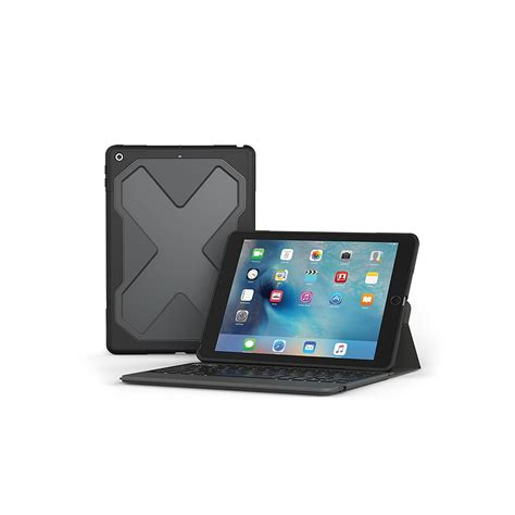 fundas con teclado para ipad zagg rugged messenger funda con teclado ipad 2017 2018