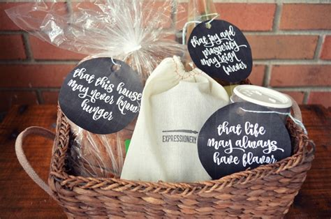 new house gifts housewarming gift basket mad in crafts