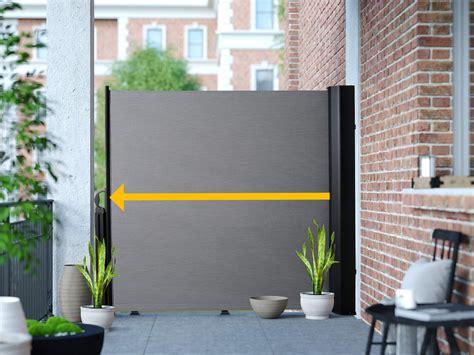 markise 6x3 seitenmarkise balkon ohne bohren seiten sichtschutz