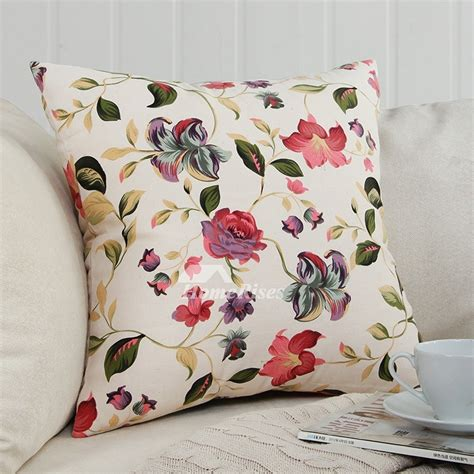 floral couch pillows couch square canvas warmth floral throw pillows