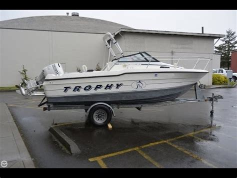 boat trailers for sale washington state sold used 1992 trophy 2002 wa in tigard oregon youtube