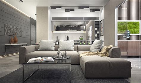 charcoal grey living room inspiring exles of use of grey in luxury interior design