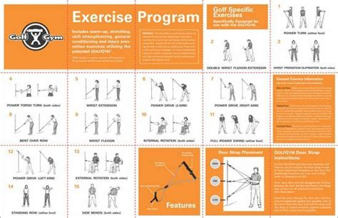 gym exercises for golf swing power and distance golfgym 174 llc