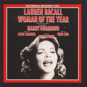 cast of the woman john kander fred ebb woman of the year 1981 original