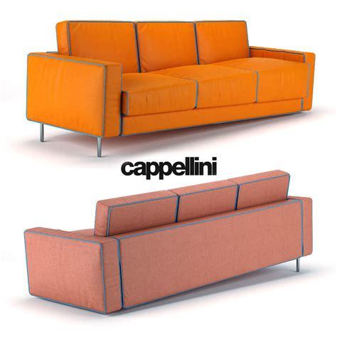 cappellini sofa cappellini adaptation sofa 3d model max obj cgtrader com