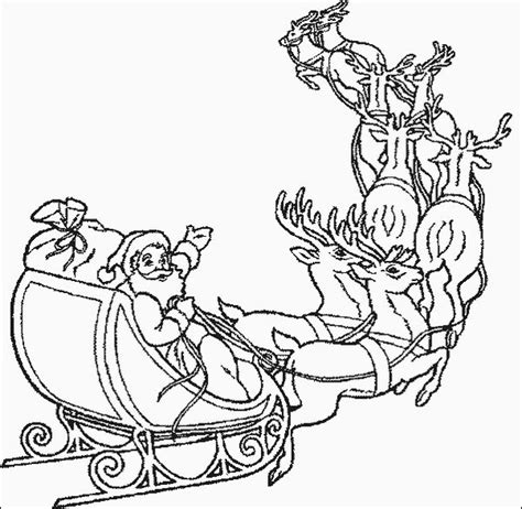 coloring pages of reindeer flying santa flying reindeer color page i stitch and stitch