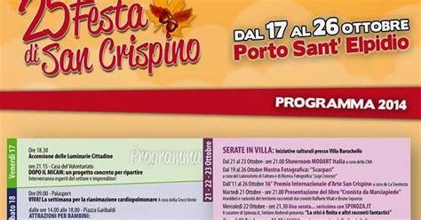 san crispino porto sant elpidio ottobre a porto sant elpidio fm the marche experience