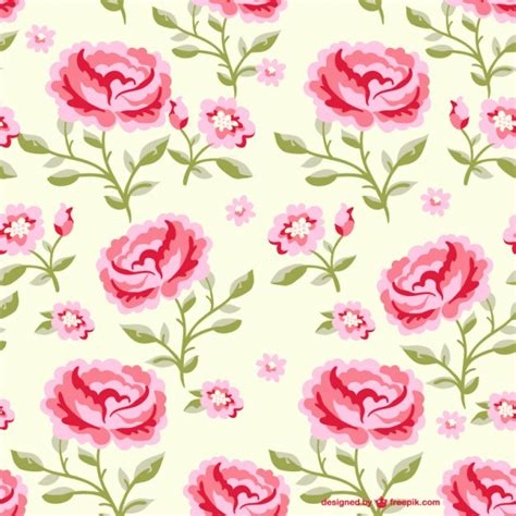 pattern flowers illustrator seamless flowers pattern illustration vector free download