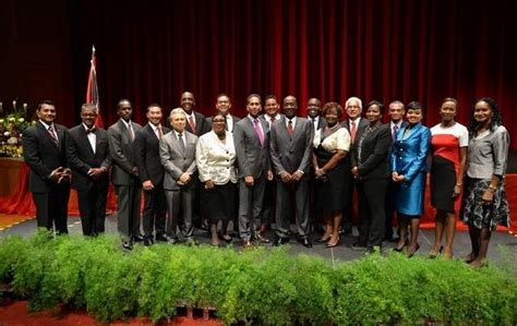 Cabinet Of And Tobago by Rights And Tobago The New Government Of