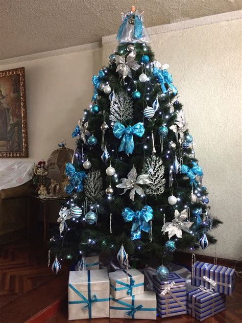 lazos para arbolito arbol navidad turquesa ideas para el hogar navidad turquesa 193 rbol navidad y