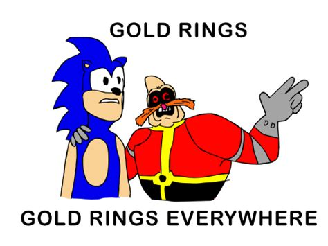 Sonic Rings Meme - sonic everywhere