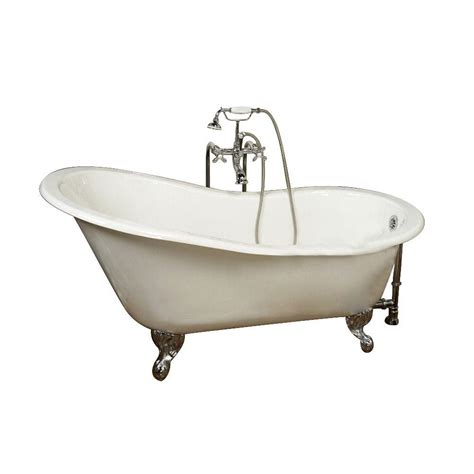 cast iron bathtub home depot barclay products 5 ft cast iron ball and claw feet