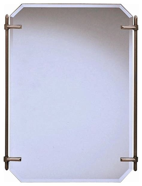 kichler bathroom mirrors kichler polygon vanity mirror antique pewter 24 5w x