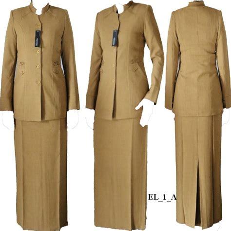Seragam Pemda Coklat Blazer Pemda Setelan Pemda Blus Celana Rok jual seragam pns cek harga di pricearea