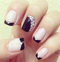 gallery for gt simple rhinestone nail designs