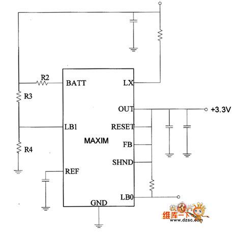 3v power supply circuit diagram 3 3v voltage output power supply transforming circuit
