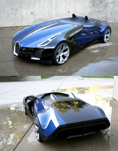 Who Designed The Bugatti Bmw Concept Cars The Bmw 328 Hommage Cars