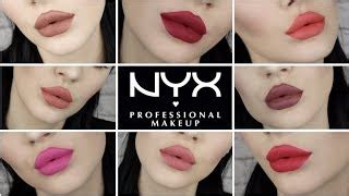 Nyx Puff nyx powder puff lippie review and swatches clipzui