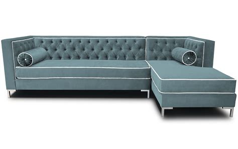 L Shaped Sectional Sleeper Sofa Chrome Metal Frame For L Shaped Gray Microfiber Sleeper Sofa With Tufted Backrest And Neckroll