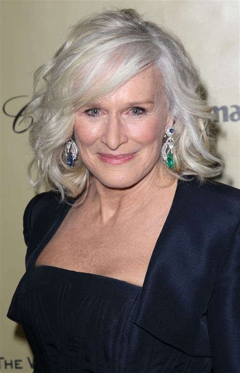 overweight actress hair styles glenn close s short hairstyle haute hairstyles for women