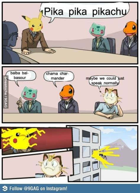 Hilarious Pokemon Memes - pokemon meeting funny meme funny memes and pics funny