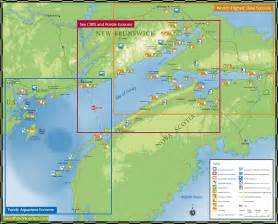 canada bay map the phenomenal bay of fundy bay of fundy