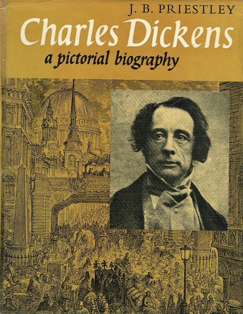 biography books in english two great novelists j b priestley and charles dickens