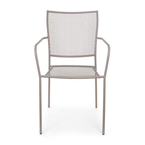 sedie giardino usate vivereverde sedia con braccioli kristen sedie da