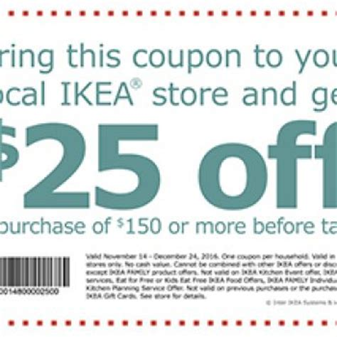 Can You Use Ikea Gift Cards Internationally - ikea 25 off 150 purchase free 4 seniors