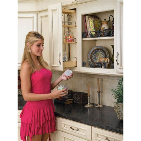 kitchen cabinet pull out rev a shelf kitchen upper cabinet pull out organizer