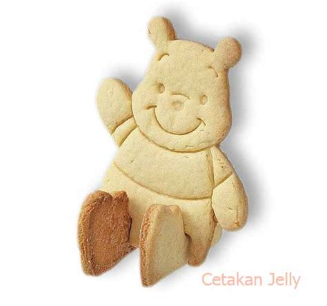 Cetakan Coklat Pudding Jelly Kue Natal 10 Pcs cetakan cookies pooh bread cookie cutter 3d cetakan jelly cetakan jelly