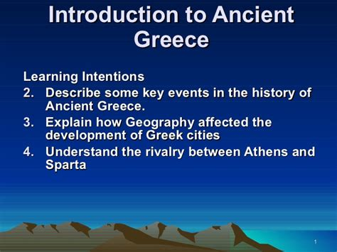 powerpoint tutorial greek introduction to ancient greece powerpoint