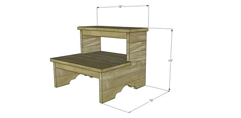 Step Stool Plans Free by Free Plans To Build A Step Stool
