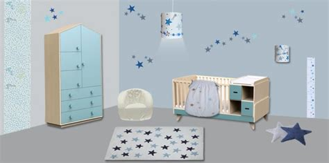 chambre bebe theme etoile decoration chambre bebe etoiles visuel 4