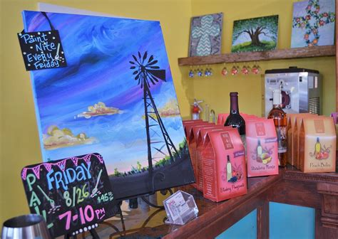 paint nite tx the rustic grape wine cellars san antonio wine lover