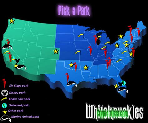 theme park usa map theme park map usa my blog