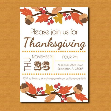Free Thanksgiving Invitation Templates by Thanksgiving Invitations Free Templates Happy Easter