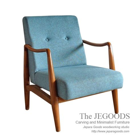 Sofa Kayu Jepara 187 scandin chair model mebel kursi sofa retro vintage era 50an